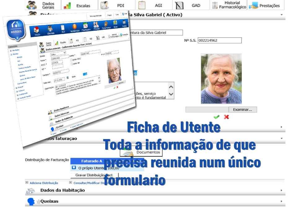 ASISGES.COM Ficha de Utente