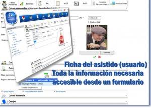 ASISGES.COM Ficha del asistido