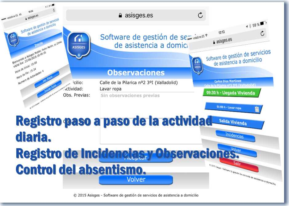 ASISGES.COM Asisges Mobile