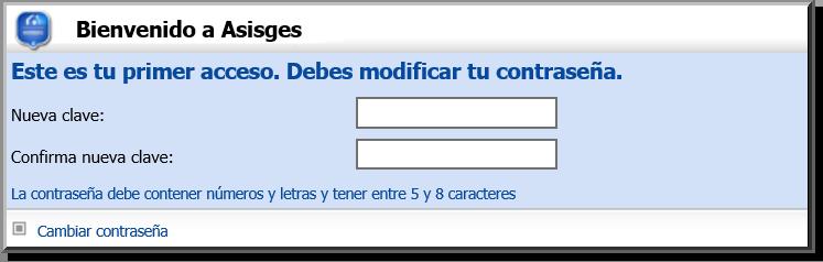 ASISGES.COM Claves Único Uso