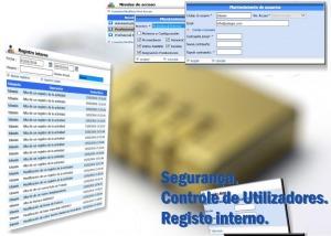 ASISGES.COM Segurança. Controle de Utilizadores e Registo Interno.