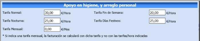 ASISGES.COM Distintas Tarifas